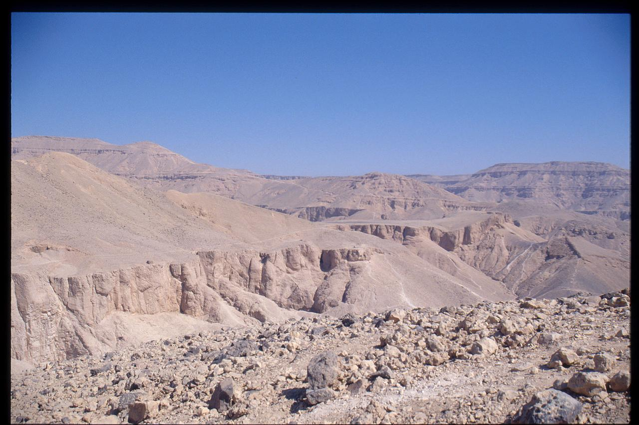 Valley of the Kings, and views of Luxor
